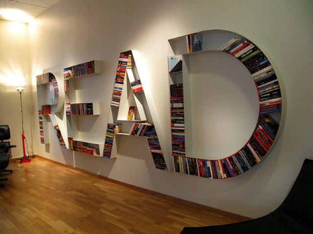 Saya Menemukan Perpustakaan Pribadi Di Blogger