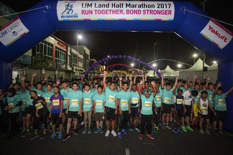 IJM Land Half Marathon 2017 Disambut Meriah Dengan 7,500 Penyertaan
