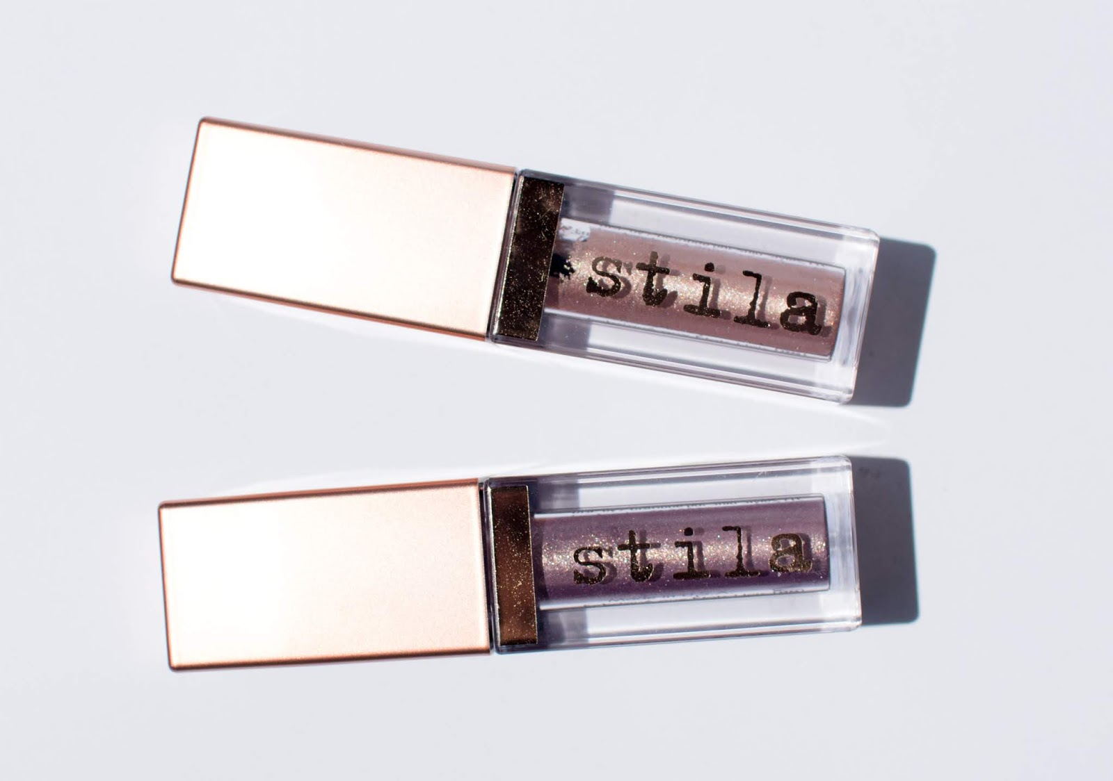 Stila Shimmer and Glow Liquid Eyeshadow in Cloud and Kitten