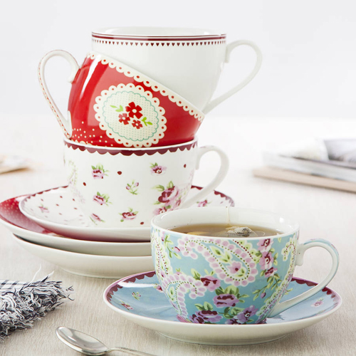 original french cafe tea collection Pretty Crockery and Kitchenware | Shopping with The Contemporary Home on Not on the Highstreet