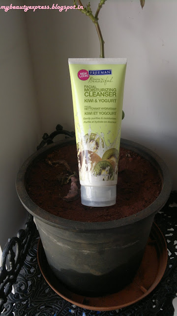 Freeman's Feeling Beautiful Kiwi & Yogurt Facial Moisturizing Cleanser- Review & Swatches