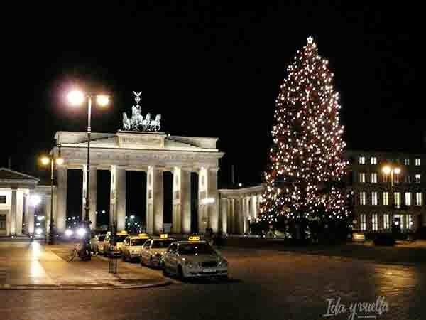 Vista navideña de Berlín