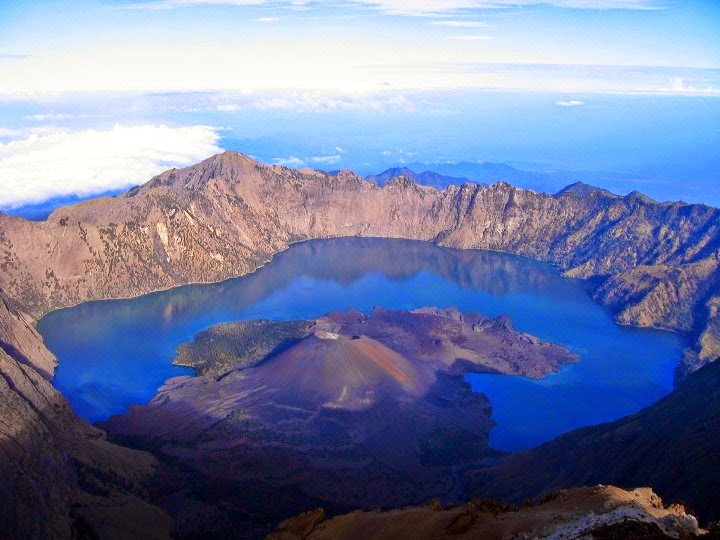 gunung rinjani mount lombok