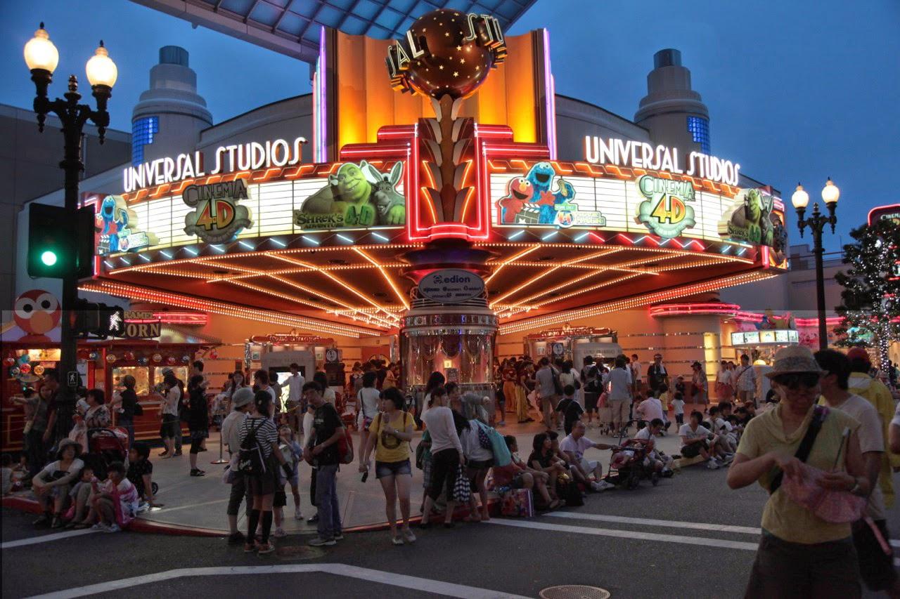 Garden Centre: Universal Studios Japan, Osaka – Travel Guide