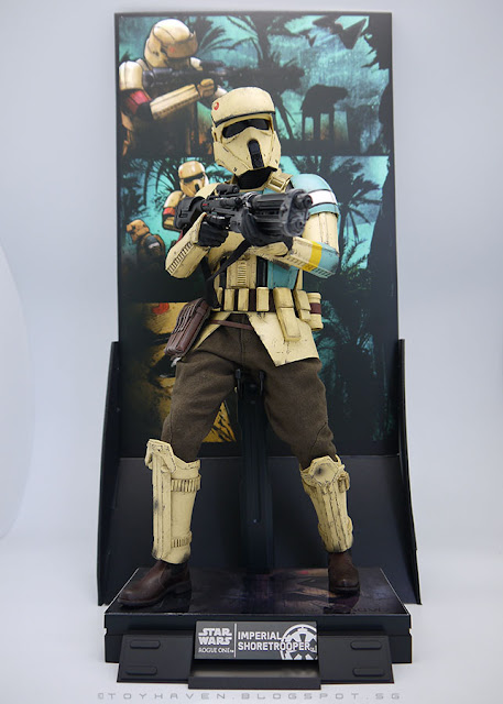 osw.zone Review 2: Hot Toys Rogue One: A Star Wars Story 1 / 6. Scale Shoretrooper Collectible Figure