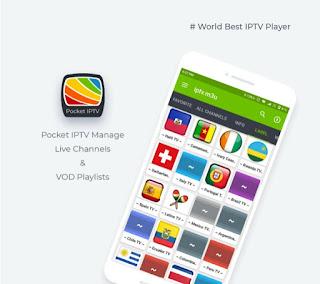 Pocket IPTV Playlist | Pocket IPTV URL