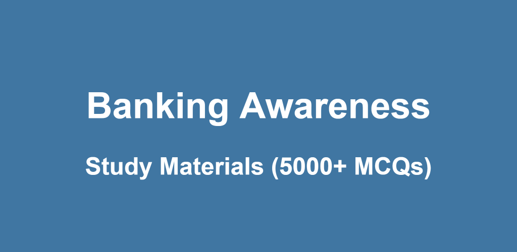 Banking Awareness Complete Material Pdf