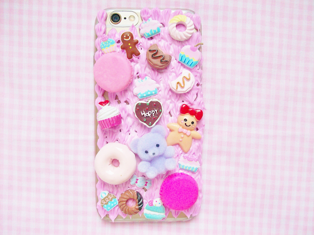 DIY Decoden Phone Case