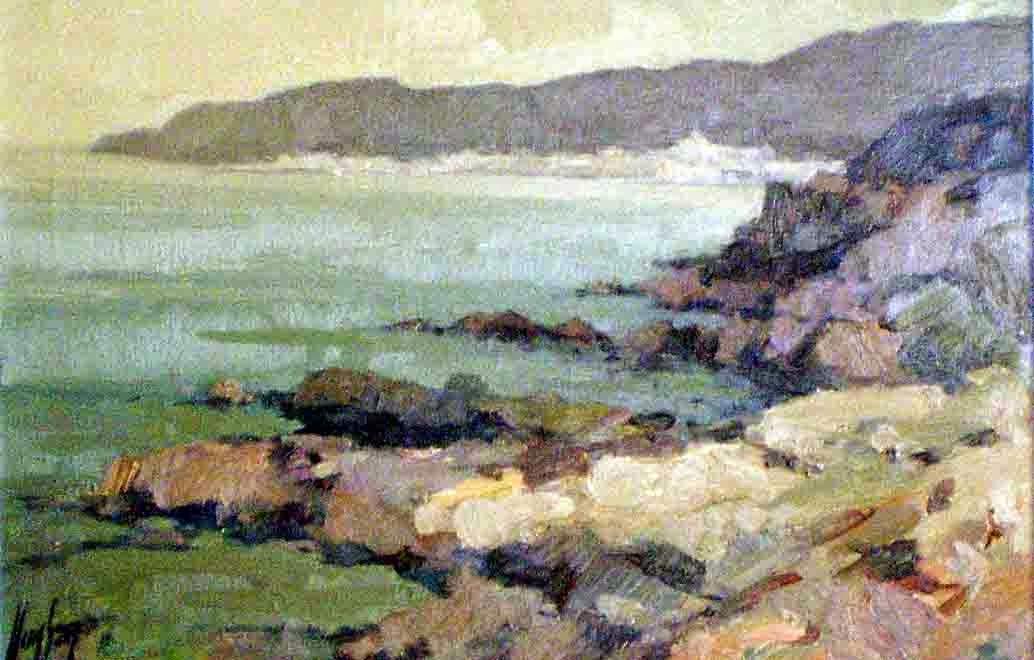 Lluis Sanz Torradeflot, Paintings of Cadaqués, Cadaqués en Pintura, Costa de Cadaqués, Cadaqués en Pintura, Paisajes de Cadaqués