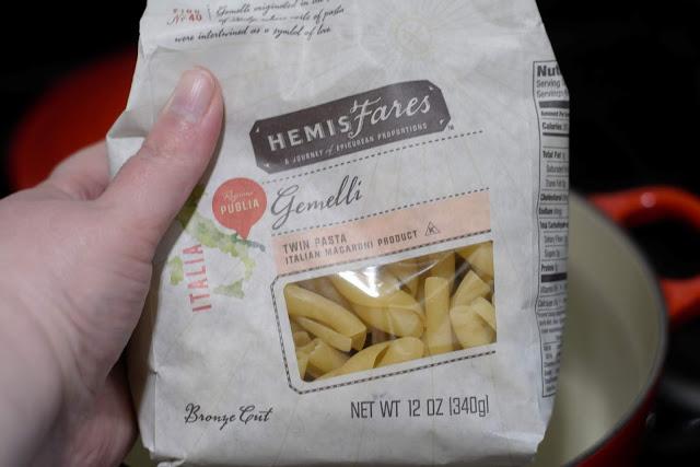 Gemelli pasta