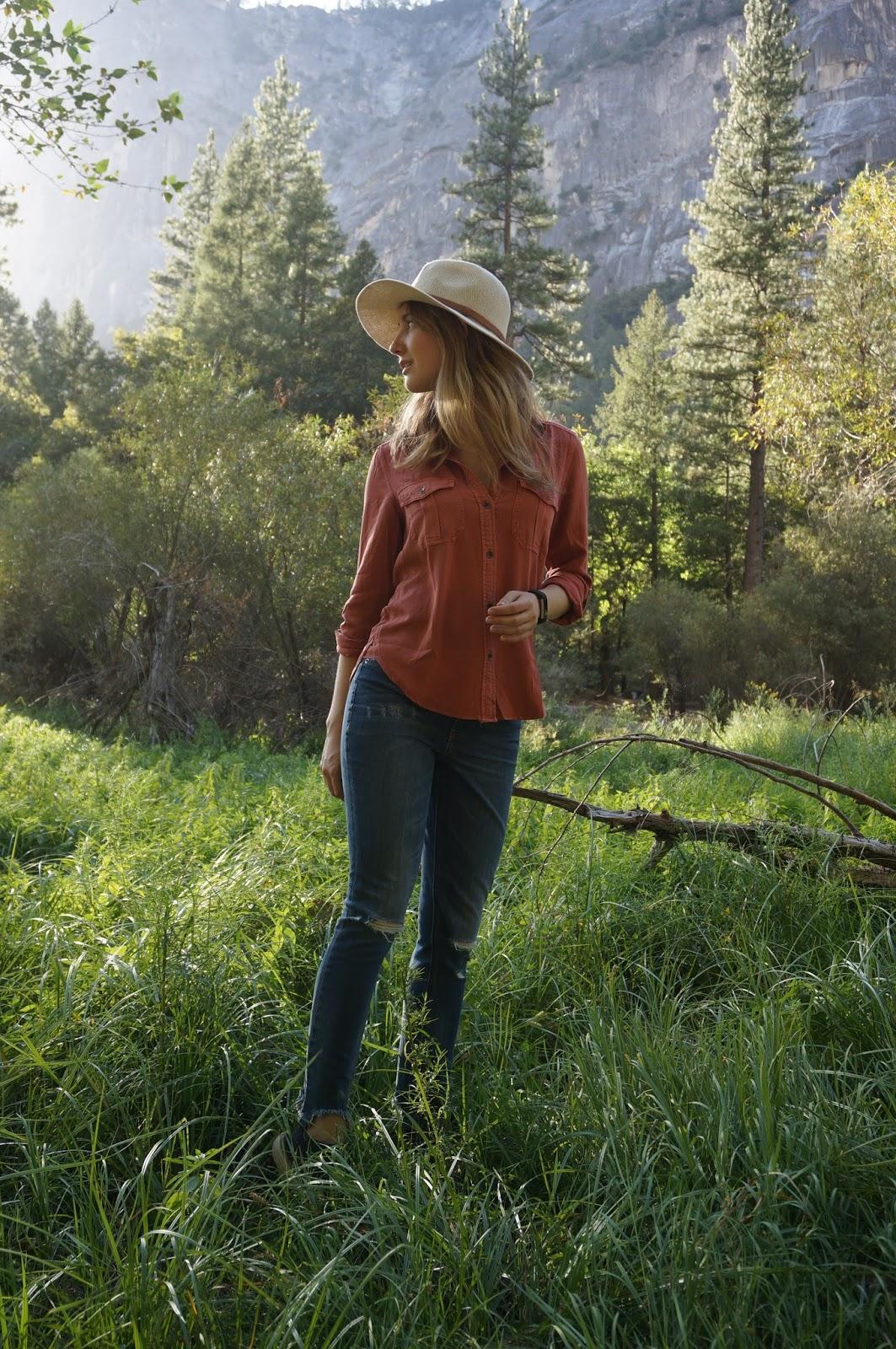 Fall Essential: The Utility Shirt - Yosemite - Mirror Lake - www.greysuede.com