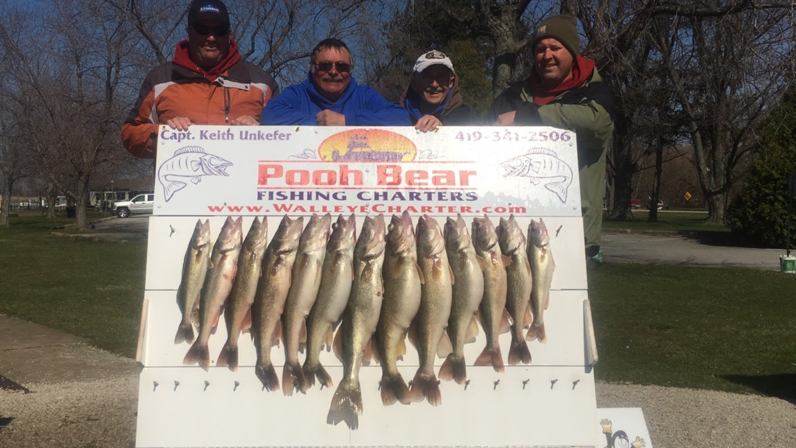 Lake erie walleye fishing reports april 15 17 walleye for Odnr fishing report