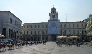 Plaza de los Señores o Piazza dei Signori de Padova.
