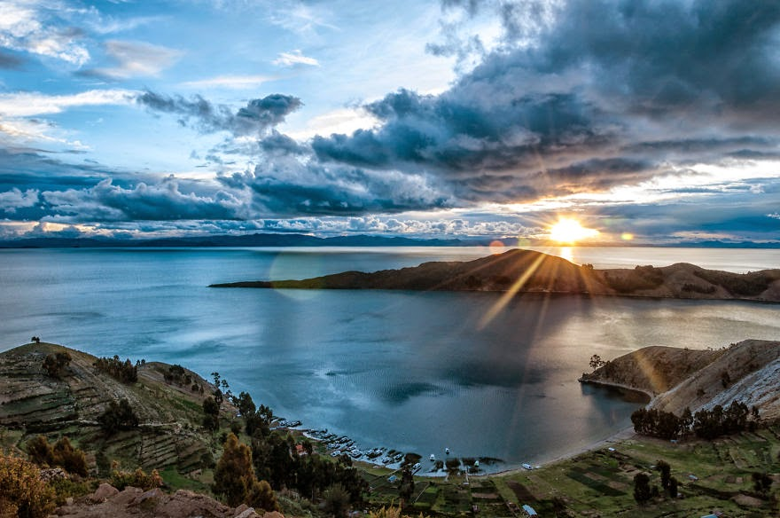 Lake Titicaca Sunset - Bolivian Paradise I Traveled For 3 Months Through The Land Of Wonders