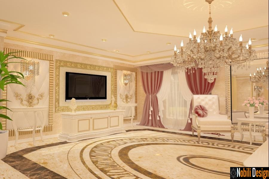 Proiecte design interior case stil clasic Bucuresti