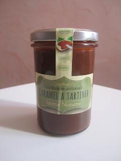 Caramel à tartiner noisette Caramels d'Isigny