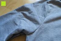 Achsel: Yidarton Frauen Lange Aermel Double Split Hoodie Pullover Pockets Sweater Kapuzenpullover