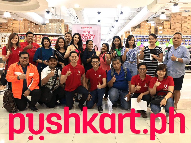 PushKart.PH Now Live, The Online Grocery With Delivery On The Go!