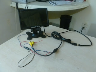 Monitor TFT color para Raspberry Pi