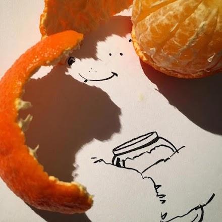 Shadow Doodles | Kreative Schatten-Kunst aus Alltagsgegenständen von Vincent Bal