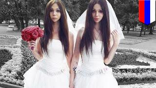 Pasangan suami istri mirip kembar identik