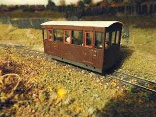 Kato 103 chassis railcar