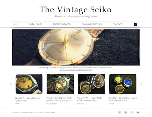 The Vintage Seiko has a new site!