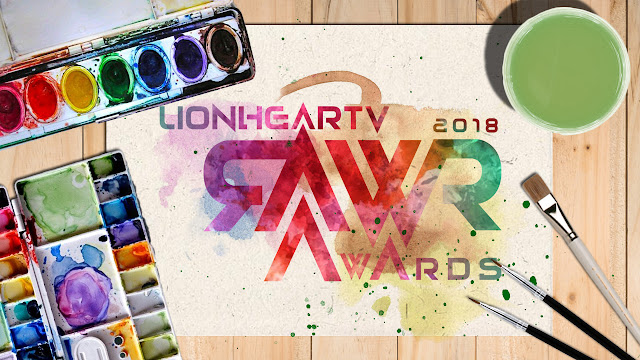 rawr awards 2018 key art