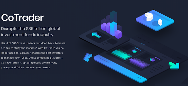 CoTrader ICO - Blockchain Decentralized Funds Marketplace for Crypto & ICOs