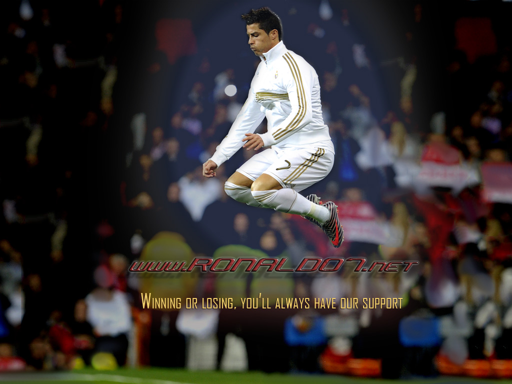 Wallpaper Cronaldo 2012