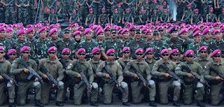 Korps Baret Ungu Marinir
