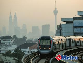 JANGKA 160,000 PENUMPANG MRT SEHARI