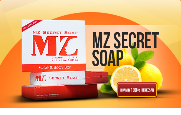 produk mz secret soap