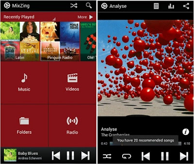 aplikasi mixzing music player