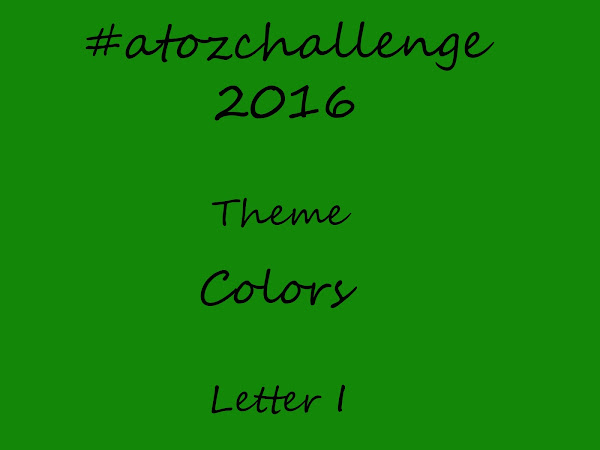 #atozchallenge 2016//I is for Indian Green