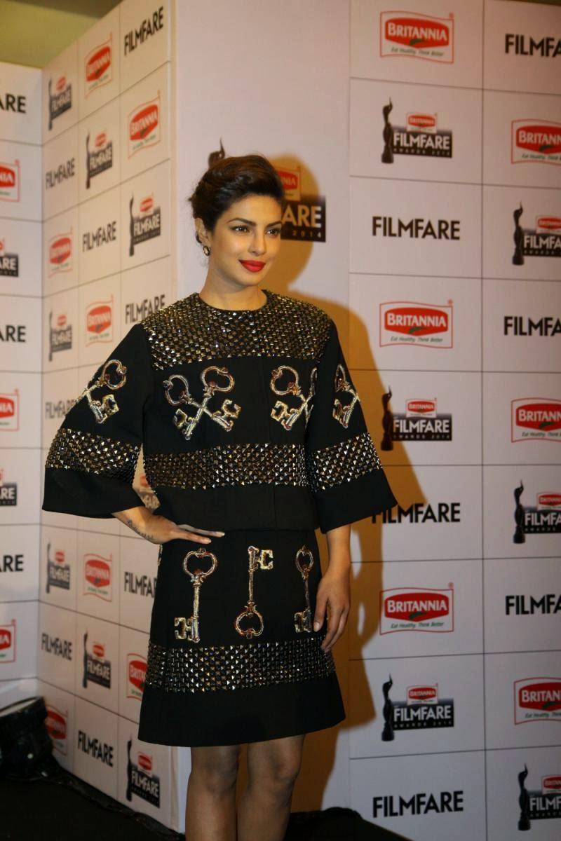 Priyanka Chopra at 60th Britannia Filmfare Awards Press Meet Photos