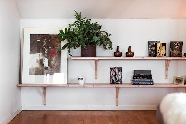 idee de rafturi pentru obiecte de decor