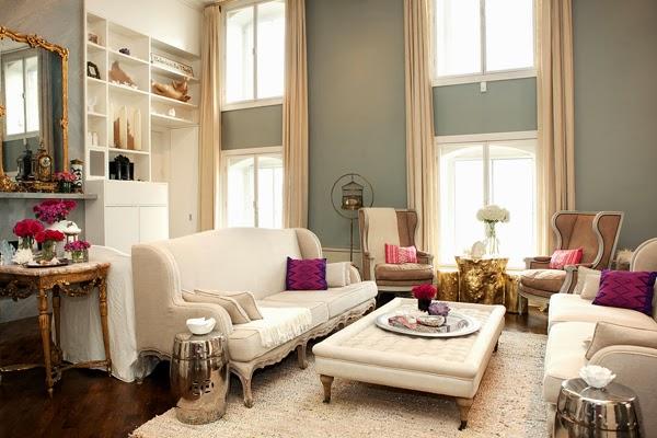 Decoracion De Interiores De Un Apartamento Estilo Romantico Y - Decoracion-estilo-romantico