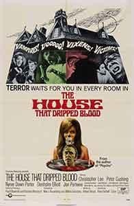 The House That Dripped Blood-La Mansión de los Crímenes-Poster