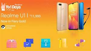 Realme Yo! Days sale and offers