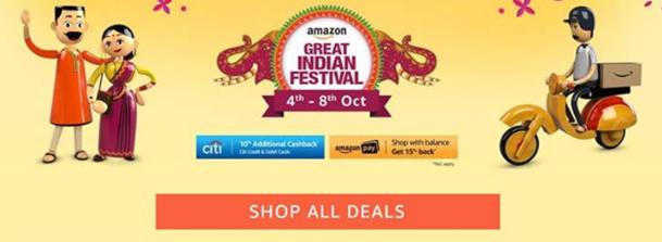 Amazon Great Indian Festive Season