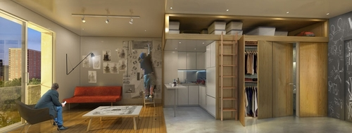 04-Apartment-Day-My-Micro-NY-Micro-Modular-Apartments-nARCHITECTS-Architects-Building