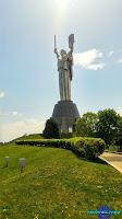 Kiev Statue de la mère Patrie