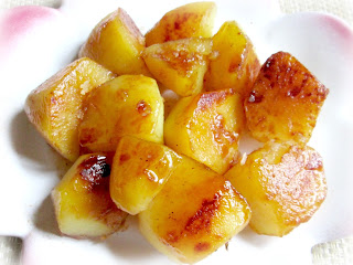 karmelizowane ziemniaki