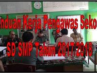Panduan Kerja Pengawas Sekolah SD SMP Tahun 2017/2018