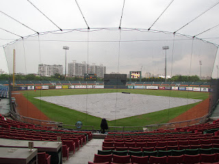 Home to center, Xinzhuang Baseball Stadium