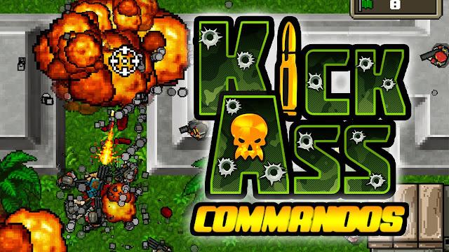 Kickass Commandos v1.1.4 Apk Mod [Unlimited Skill Point]