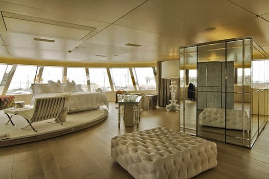MY LUXURY NOTEBOOK: Motor Yacht A, by Philippe Starck ...