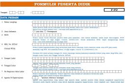 Download Formulir Peserta Didik Baru Dapodik 2020