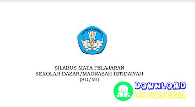 Silabus SD Kurikulum 2013 Revisi 2016 Bahasa Indonesia